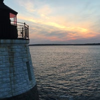 Photo taken at Castle Hill Lighthouse by Dan P. on 9/12/2017