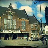 Photo taken at Maastricht Railway Station by Gunta V. on 5/18/2013