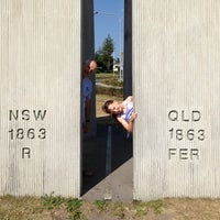 Photo taken at QLD & NSW Border by Paula M. on 1/17/2013