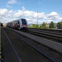 Photo taken at Železničná stanica Humenné by Ruslan on 6/30/2018
