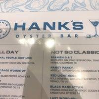 Das Foto wurde bei Hank's Oyster Bar von Esquire S. am 3/1/2018 aufgenommen