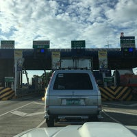 Photo taken at NLEX Bocaue Toll Plaza by Aries A. on 9/2/2017