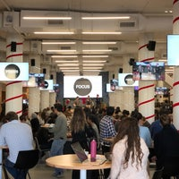 Photo taken at Pinterest HQ by Tim J. on 12/12/2017