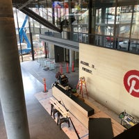 Photo taken at Pinterest HQ by Tim J. on 1/23/2018