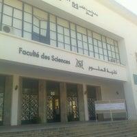 Photo taken at Faculté Des Sciences Mohamed V by Saad Alah C. on 6/28/2013