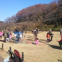 Photo taken at こどもの国 中央広場 by Santaro T. on 12/15/2013