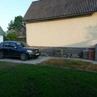 "Photo taken at Дача ""Лесные поляны"" by Egor S. on 5/21/2013"