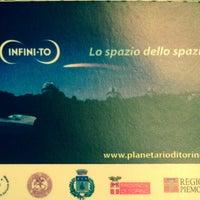 Foto scattata a Infini.to - Planetario di Torino da Valeria T. il 10/6/2013
