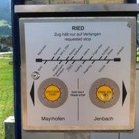 Photo taken at Bahnhof Ried im Zillertal by Katya V. on 7/22/2013