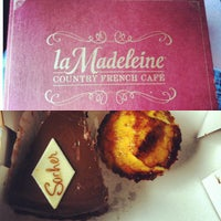 Photo taken at la Madeleine French Bakery & Café Mandeville by Chelsea B. on 7/7/2013