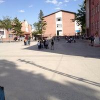 Photo taken at Konya Dumlupınar Anadolu Lisesi by Zafer U. on 6/11/2013