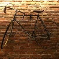 Photo taken at Velodrome Espresso Bar by Warsaw B. on 10/8/2014