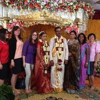 Photo taken at Sri Raja Rajeswary Temple by Ernie Y. on 2/12/2014