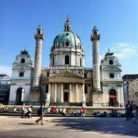 5/9/2013 tarihinde Lars J.ziyaretçi tarafından Karlskirche'de çekilen fotoğraf