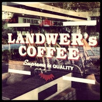Photo taken at Landwer's Cafe / קפה לנדוור by Lars J. on 12/21/2013