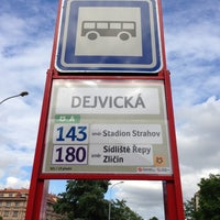 Photo taken at Dejvická (bus) by Petr H. on 5/13/2013
