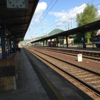 Photo taken at Železniční stanice Lovosice by Petr H. on 5/13/2013