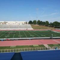 Photo taken at Burke High School by Kayla M. on 9/14/2012