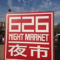 Photo taken at 626 Night Market by Samuel C. on 8/4/2013