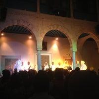 Photo taken at Palais Ennejma Ezzahra (Dar El-Baron d'Erlanger) by Ibrahim M. on 6/1/2013