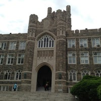 Photo taken at Fordham University - Rose Hill by Eva R. on 6/6/2013