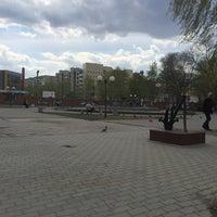 "Photo taken at Площадь ""У Фонтана"" by Alexey G. on 5/2/2016"