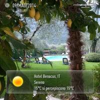 Foto scattata a Hotel Benacus da Hotel Benacus M. il 5/9/2014