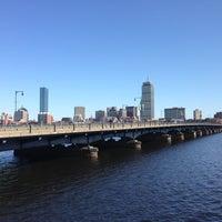 Photo taken at Harvard Bridge by Masashi S. on 4/24/2013
