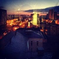 Photo taken at Улица Поликарпова by Nina S. on 3/29/2014