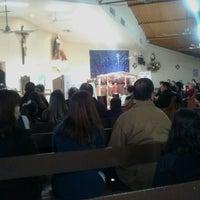 Photo taken at Iglesia San Ramon by Diana V. on 12/25/2016