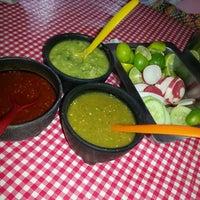 Photo taken at Tacos Talisman by Felipe Gerardo C. on 7/17/2013