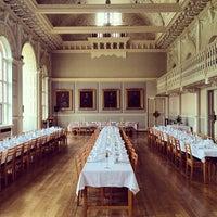 Photo taken at Newnham College by Ariel B. on 4/5/2014