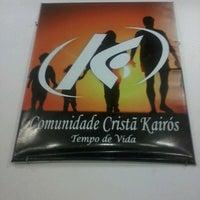 Photo taken at Comunidade Cristã Kairós by Samy #. on 5/12/2013
