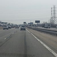 Photo taken at New Jersey Turnpike by Juanjo on 4/3/2014