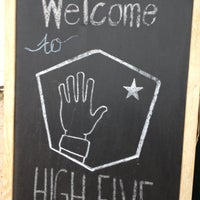 Photo taken at High Five Coffee Bar by Blake H. on 5/1/2013
