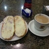 Photo taken at Mondego Padaria & Restaurante by Paulo Henrique A. on 5/20/2013