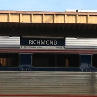 Photo taken at Richmond - Staples Mill Road Amtrak Station (RVR) by Ed L. on 12/25/2012