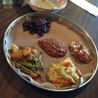 Photo taken at Ras Dashen Ethiopian Restaurant by Christanh N. on 6/16/2013