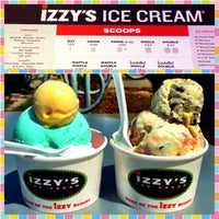 Photo taken at Izzy's Ice Cream Cafe by Brit on 5/15/2013