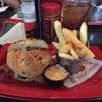 Photo taken at Red Robin Gourmet Burgers by Clint C. on 12/12/2015