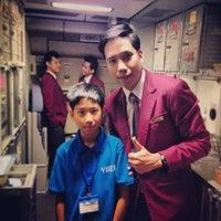 Photo taken at Thai Airways Flight TG 614 by Pélé T. on 9/22/2013