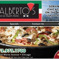 Photo taken at J.B. Alberto's Pizza by Rogers Park Chamber of Commerce on 1/29/2017