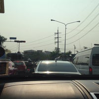 Photo taken at NIDA Intersection by Beer P. on 2/10/2017