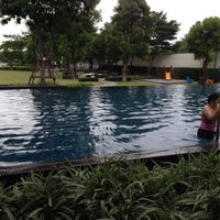 Photo taken at Club house @ Chaiyapruk Village by Beer P. on 7/12/2015
