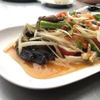 Photo taken at ส้มตำแม่ลำยอง นวลจันทร์ by Beer P. on 6/29/2017