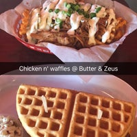 Photo taken at Butter And Zeus Waffle Sandwiches by Sheila H. on 1/14/2017