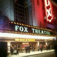 Photo taken at The Fabulous Fox by Mary I. on 2/27/2013