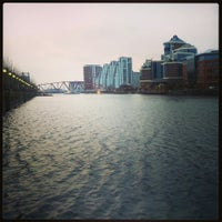 Photo taken at Salford Quays by Laura on 2/25/2013