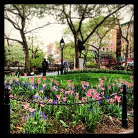 Photo taken at Abingdon Square Park by Zach S. on 5/2/2013