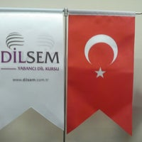 Photo taken at Dilsem Yabancı Dil Kursu by Sefa D. on 8/2/2013